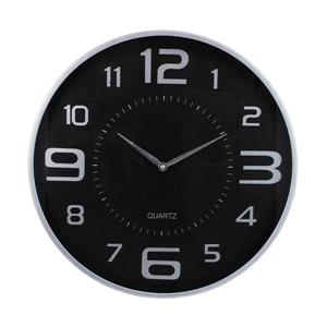 Nexxt Designs 18-in Black Modern Wall Clock
