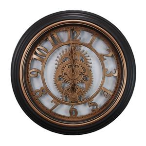 Nexxt Designs Kiera Grace Gears 20-in Bronze Finish Wall Clock
