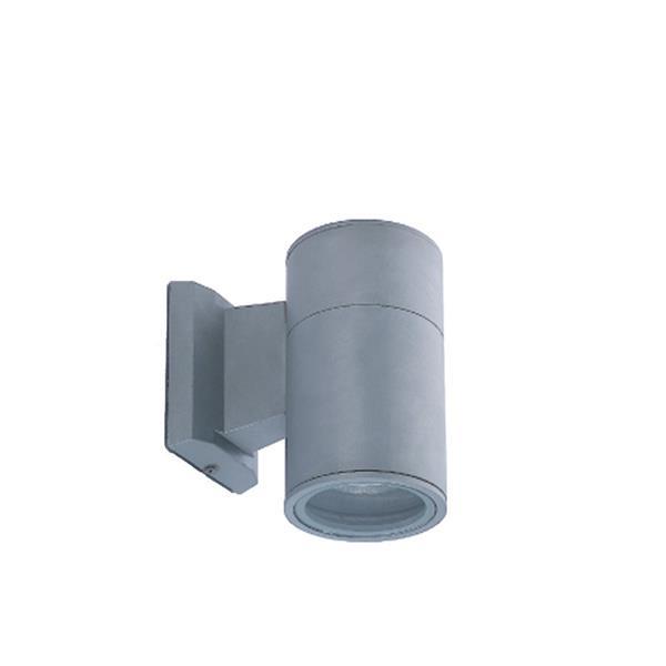 Eurofase 6.25-in Grey Round Outdoor Wall Light