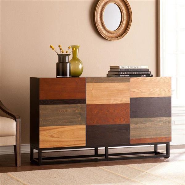 Boston Loft Furnishings Dayton Black Composite Modern Console Table