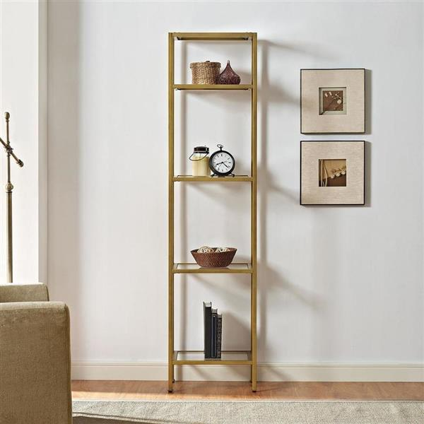 Crosley Furniture Aimee 18-in x 73-in Narrow Etagere