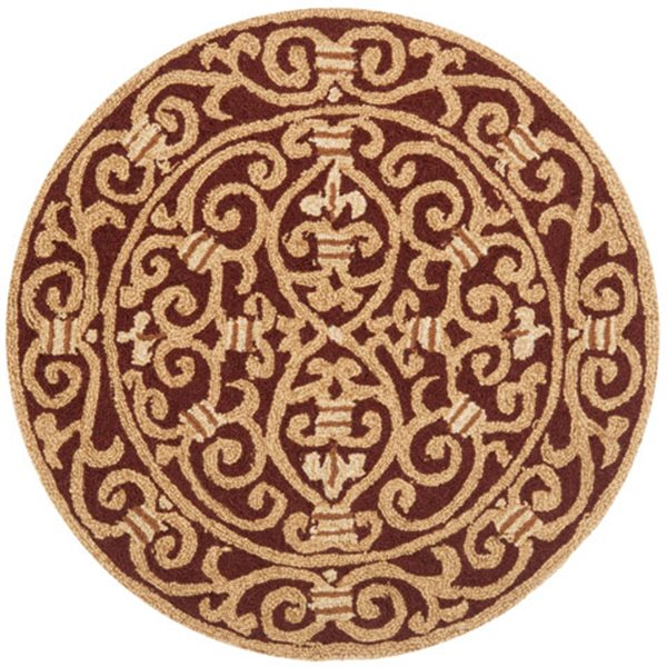 Safavieh Chelsea Brown Area Rug,HK11C-8R