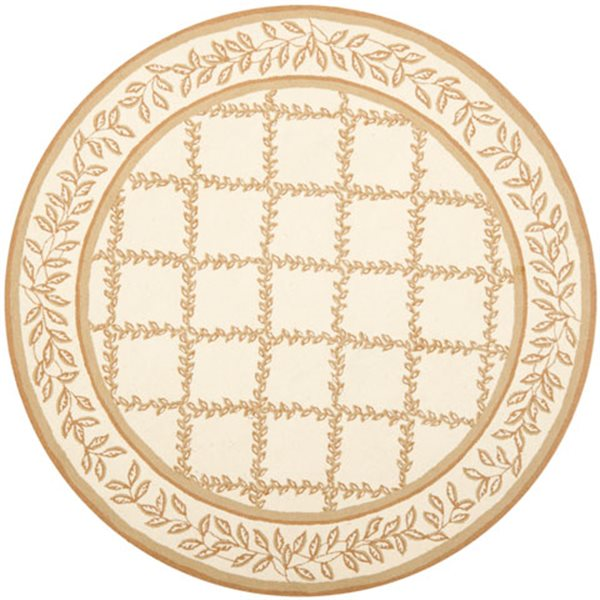 Safavieh Chelsea Ivory and Camel Area Rug,HK230C-8R