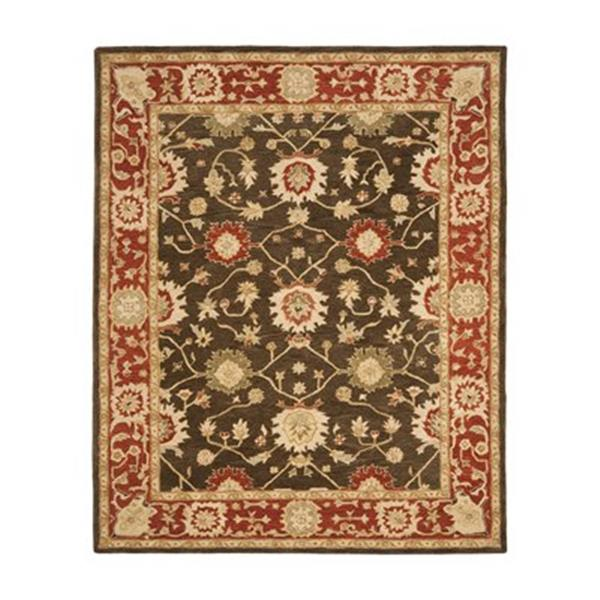 Safavieh Anatolia Olive and Rust Area Rug,AN554A-6