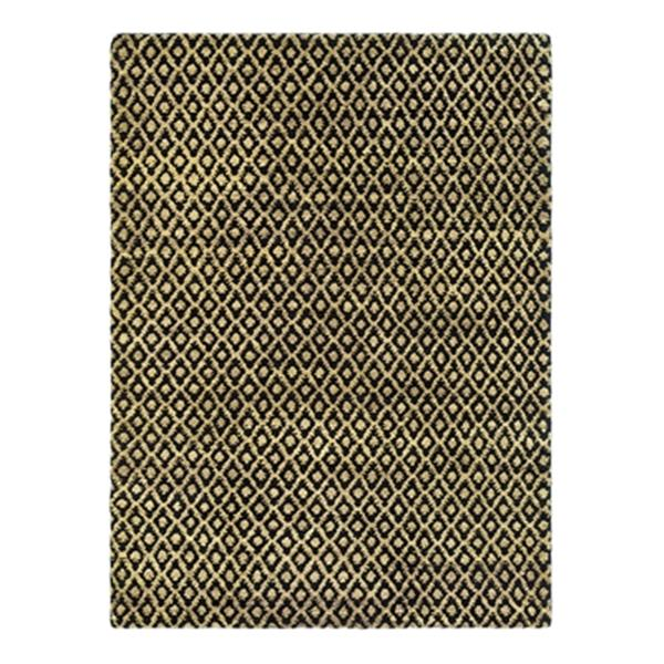 Safavieh Bohemian Black and Gold Area Rug,BOH315A-6