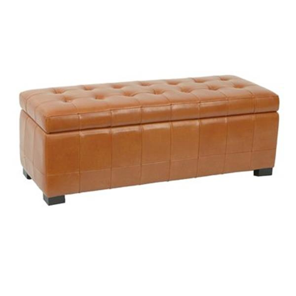 Safavieh HUD4200 Manhattan Large Storage Bench,HUD4200C