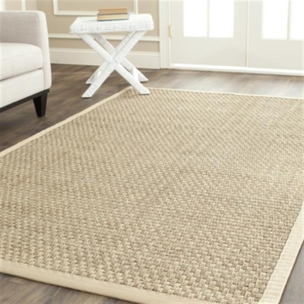 Safavieh Natural Fiber Natural and Beige Area Rug,NF114A-8