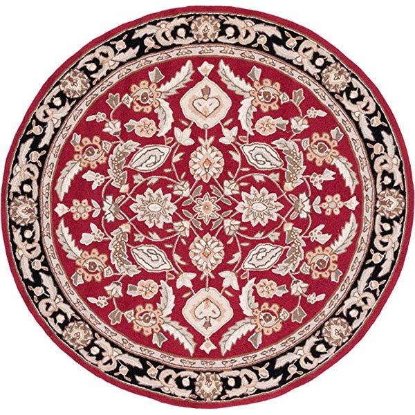 Safavieh DuraRug Red Area Rug,EZC454A-8R