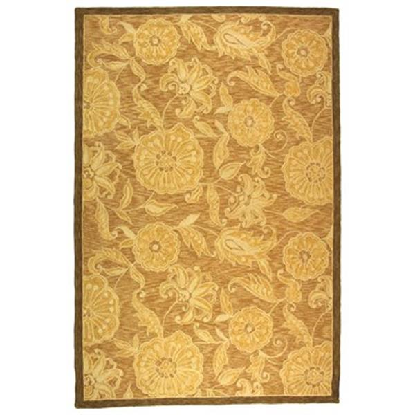 Safavieh HK156A Chelsea Area Rug, Light Brown,HK156A-8OV