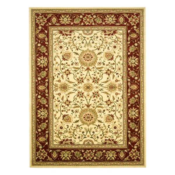Safavieh Lyndhurst Ivory and Red Area Rug,LNH212K-9