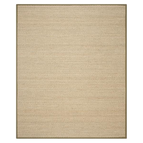 Safavieh Natural Fiber Natural and Olive Area Rug,NF115G-8