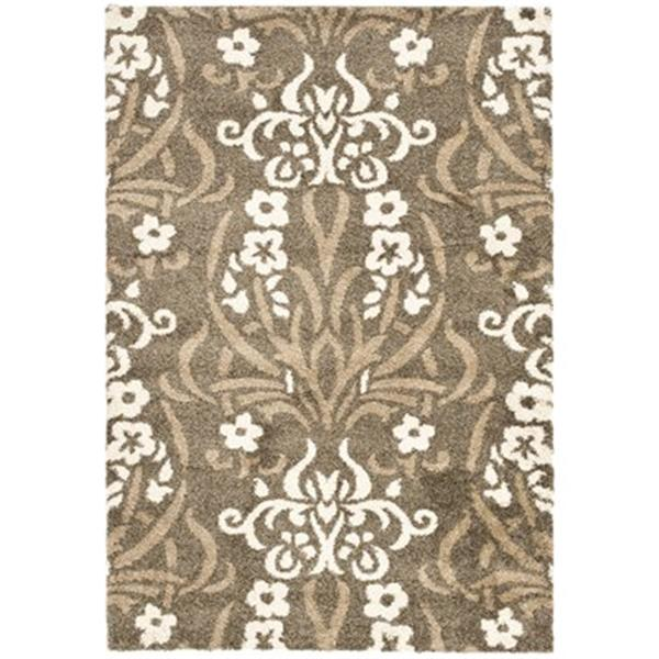 Safavieh Shag Smoke and Beige Area Rug,SG457-7913-10