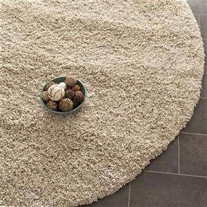 Safavieh California Shag Power Loomed Beige Area Rug,SG151-1