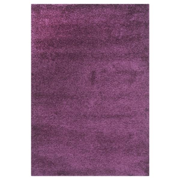 Safavieh SG151-7373 California Shag Power Loomed Purple Area