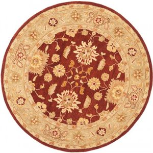 Safavieh Anatolia Red and Sage Area Rug,AN556F-8R