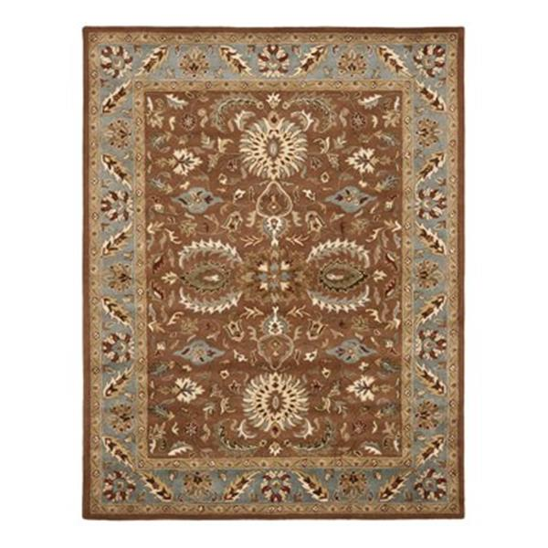 Safavieh Heritage Brown and Blue Area Rug,HG968A-6