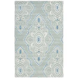 Safavieh WYD372A Wyndham Area Rug, Blue/Ivory,WYD372A-6