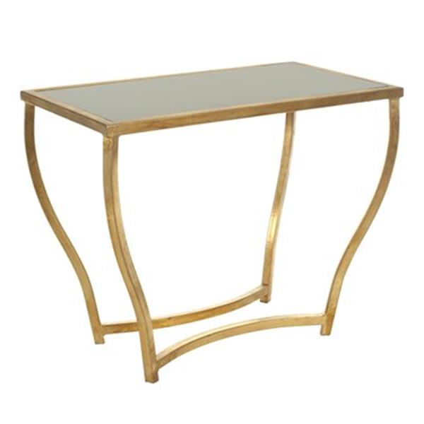 Safavieh Rex 20-in Distressed Gold Accent Table