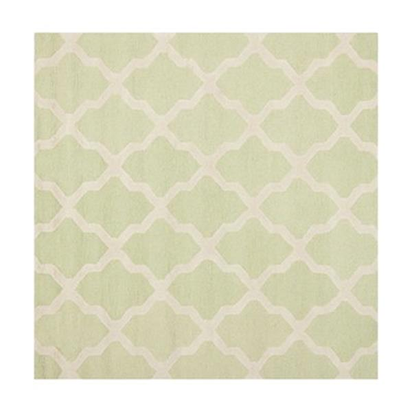 Safavieh Cambridge Light Green and Ivory Area Rug,CAM121B-6S