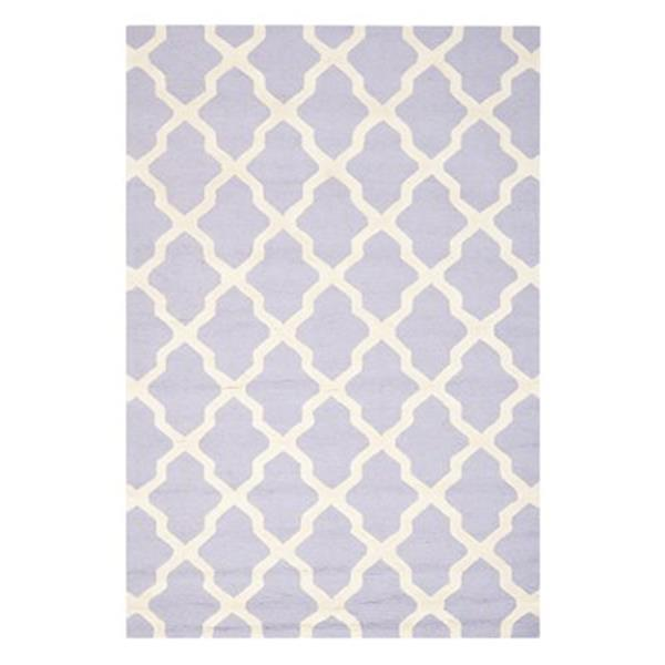 Safavieh Cambridge Lavender and Ivory Area Rug,CAM121C-6