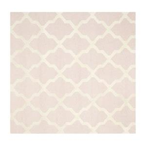 Safavieh Cambridge Light Pink and Ivory Area Rug,CAM121M-6SQ
