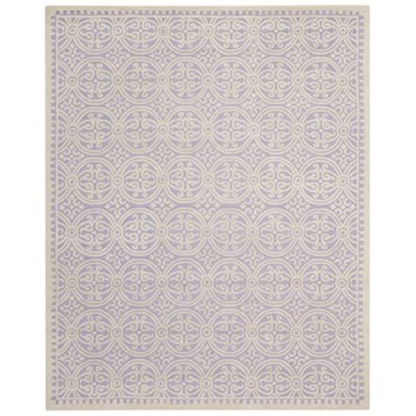 Safavieh Cambridge Lavender and Ivory Area Rug,CAM123C-8