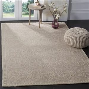 Safavieh Cambridge Light Pink and Ivory Area Rug,CAM123M-8SQ