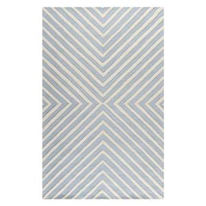 Safavieh Cambridge Light Blue and Ivory Area Rug,CAM129A-6