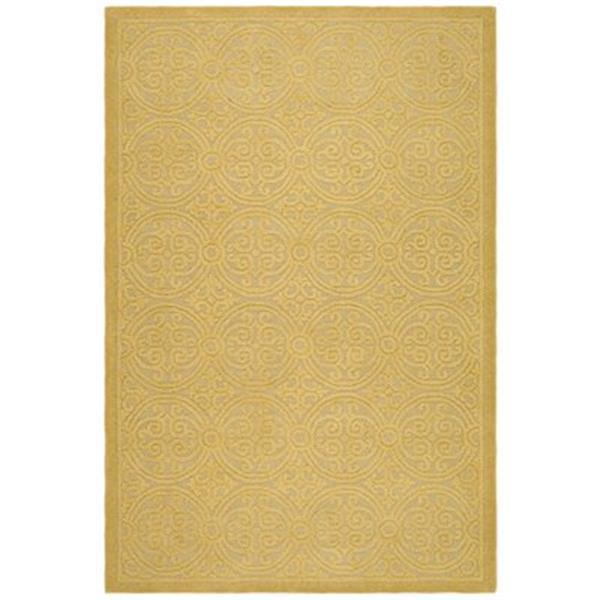 Safavieh Cambridge Light Gold and Dark Gold Area Rug,CAM233A