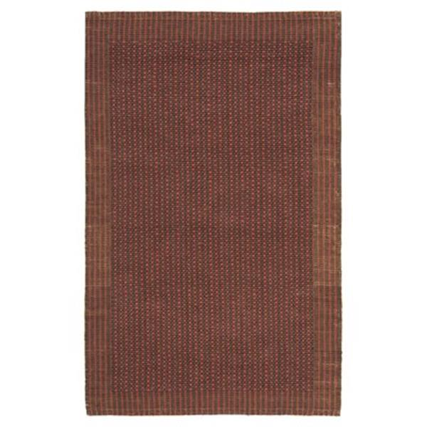 Safavieh Natural Fiber Brown and Rust Area Rug,NF451A-8