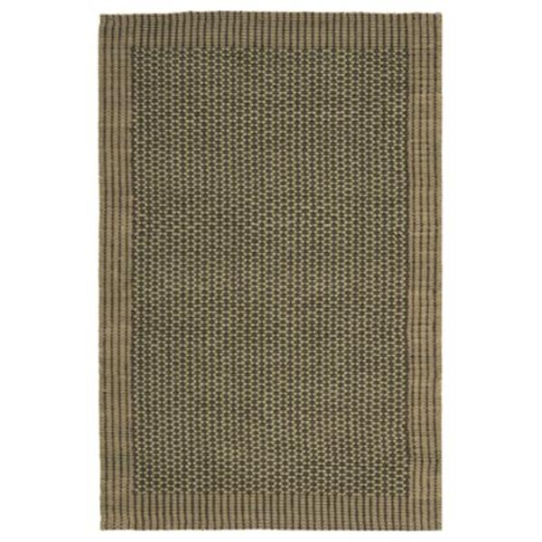 Safavieh NF451B Natural Fiber Area Rug, Charcoal / Green,NF4