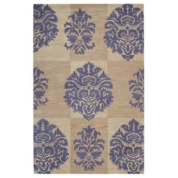 Safavieh Wyndham Beige and Lavender Area Rug,WYD322A-6