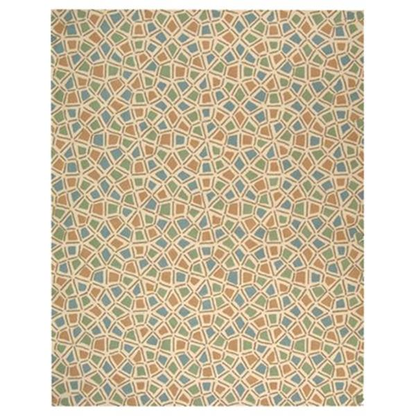 Safavieh Newport Blue and Green Area Rug,NPT426C-6