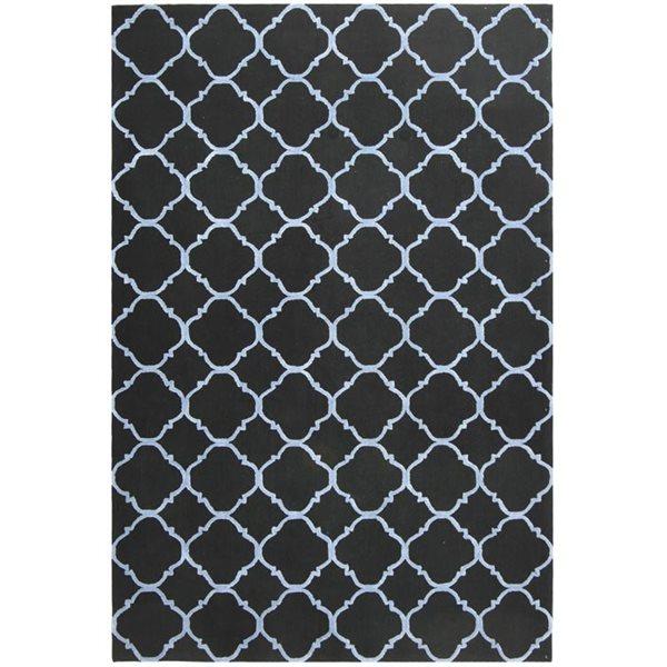 Safavieh Newport Black and Blue Area Rug,NPT430B-9