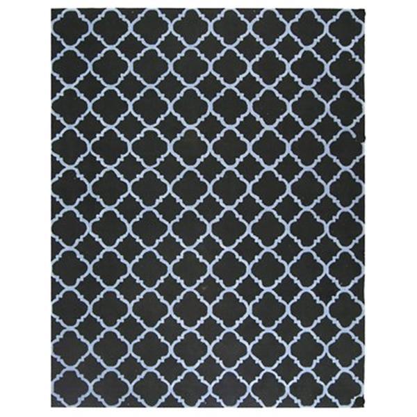 Safavieh Newport Black and Blue Area Rug,NPT430B-8