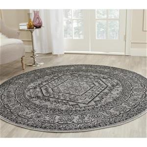 Safavieh Adirondack Silver and Black Area Rug,ADR108A-10