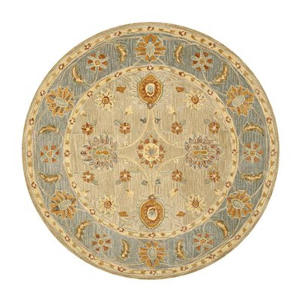 Safavieh AN561A Anatolia Taupe and Grey Area Rug,AN561A-6