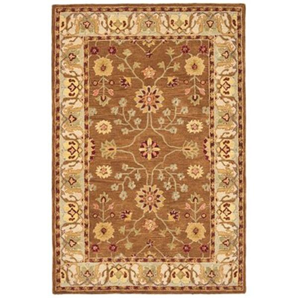 Safavieh AN562B Anatolia Area Rug, Tan / Ivory,AN562B-5