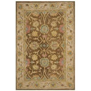 Safavieh AN580F Anatolia Area Rug, Brown / Ivory,AN580F-5