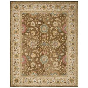 Safavieh AN580F Anatolia Area Rug, Brown / Ivory,AN580F-8