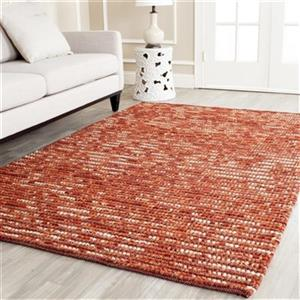 Safavieh Bohemian Rust and Multi-Colored Area Rug,BOH525C-5