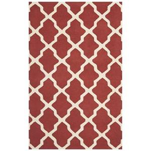 Safavieh Cambridge Rust and Ivory Area Rug,CAM121L-6