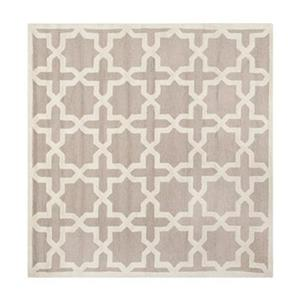 Safavieh Cambridge Beige and Ivory Area Rug,CAM125J-8SQ