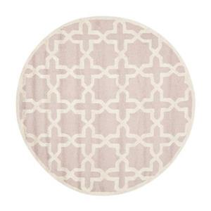 Safavieh CAM125M Cambridge Area Rug, Light Pink / Ivory,CAM1
