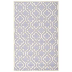 Safavieh Cambridge Lavender and Ivory Area Rug,CAM132C-8