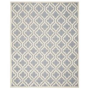 Safavieh Cambridge Silver and Ivory Area Rug,CAM132D-8