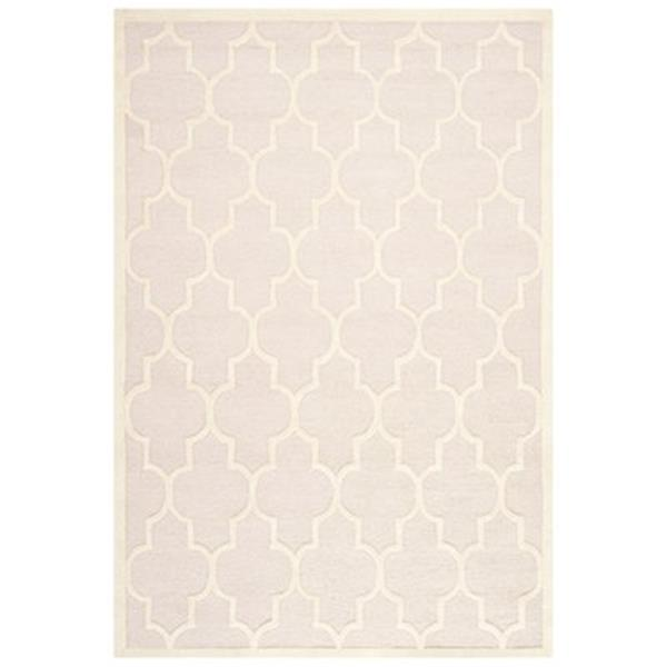 Safavieh Cambridge Light Pink and Ivory Area Rug,CAM134M-6