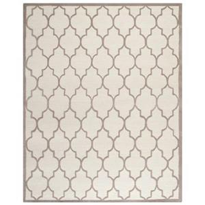 Safavieh Cambridge Ivory and Beige Area Rug,CAM134P-8
