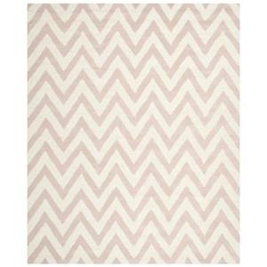 Safavieh Cambridge Light Pink and Ivory Area Rug,CAM139M-8