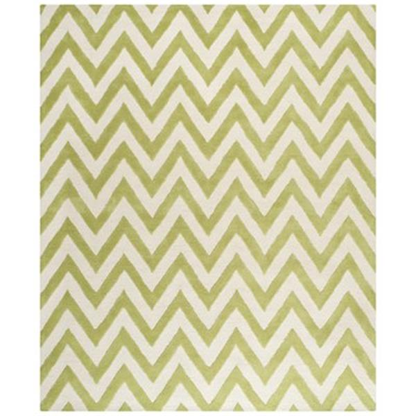 Safavieh Cambridge Green and Ivory Area Rug,CAM139T-8
